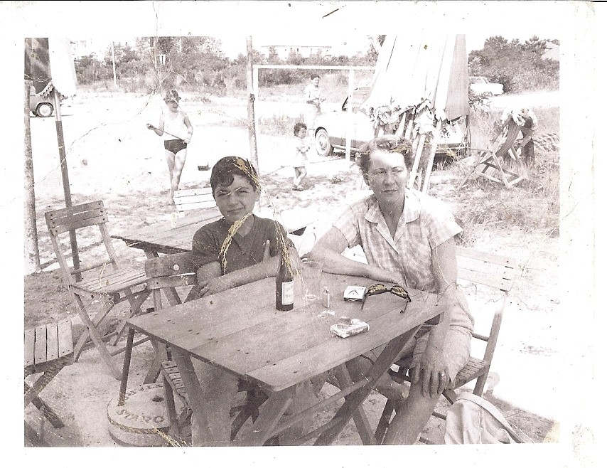 Anno 1956... una delle prime turiste americane