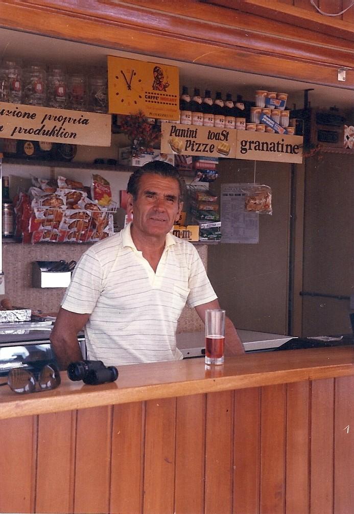 Luigi in posa...maggio 1986